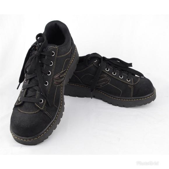 vela Dictadura microondas  Skechers Shoes | Skechers Womens Black Nubuck Oxfords Casual Shoes |  Poshmark